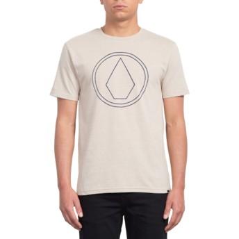 Volcom Oatmeal Pin Stone Beige T-Shirt