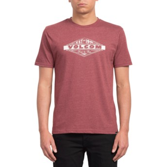 Volcom Crimson Volcom Run Red T-Shirt