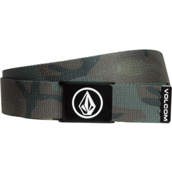 Volcom Army Circle Web Camouflage Belt
