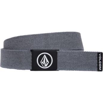Volcom Charcoal Heather Circle Web Grey Belt