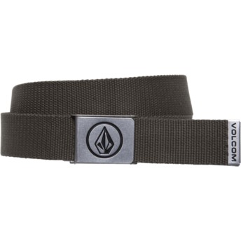 Volcom Military Circle Web Brown Belt