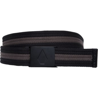 Volcom Black Strap Web Black Belt
