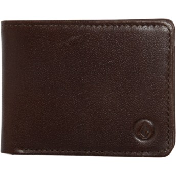 Volcom Brown Strangler Brown Wallet