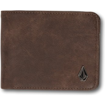 Volcom Brown 3in1 Brown Wallet