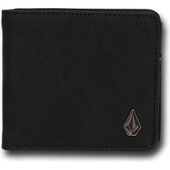 Volcom New Black Slim Stone Black Wallet
