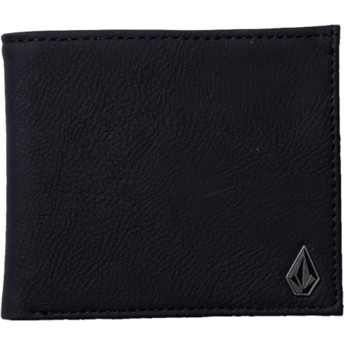 Volcom Black Slim Stone Black Wallet