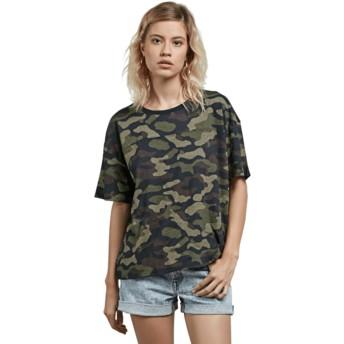 Volcom Dark Camo Throw Shade Camouflage T-Shirt