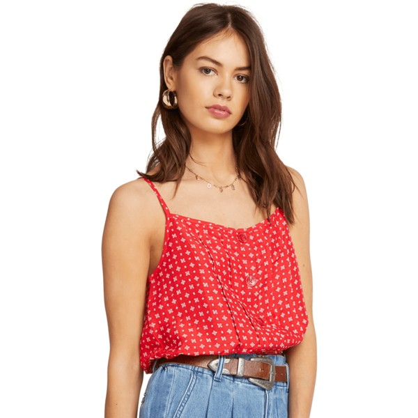 volcom-red-deep-tracks-red-tank-blouse