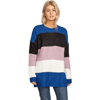 Volcom Multi Fuzz Buster Multicolor Sweater