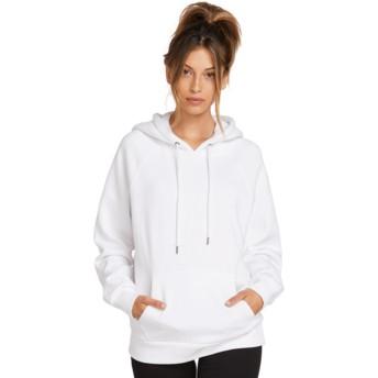 Volcom White GMJ White Hoodie Sweatshirt