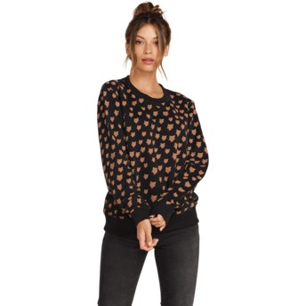 Volcom Black Sound Check Black Sweatshirt