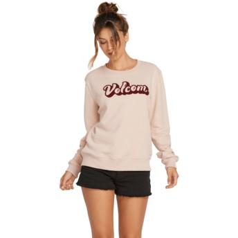 Volcom Mushroom Sound Check Pink Sweatshirt