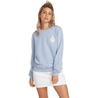 Volcom Misty Blue Sound Check Blue Sweatshirt