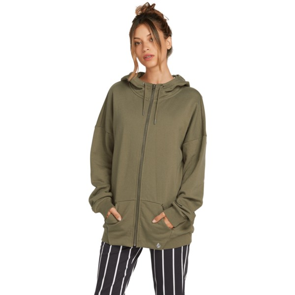 volcom-army-green-combo-walk-on-by-terry-green-zip-through-hoodie-sweatshirt