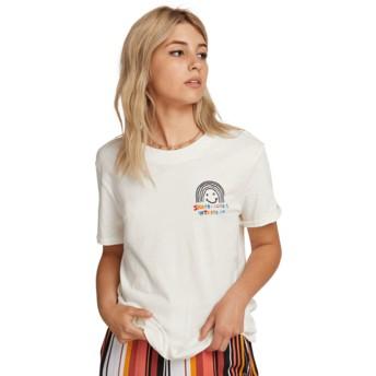 Volcom White Ozzie Rainbow White T-Shirt