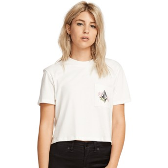 Volcom White Stone Grown White T-Shirt