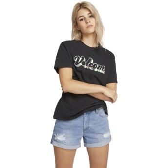 Volcom Black Stone Slick Black T-Shirt