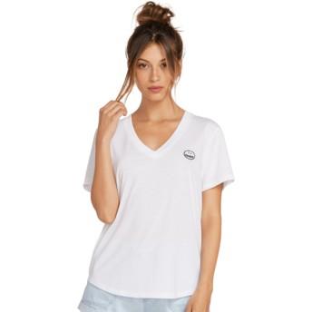 Volcom Drawing White Volneck White T-Shirt
