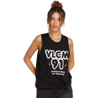 Volcom Black Breaknot Black Sleeveless T-Shirt