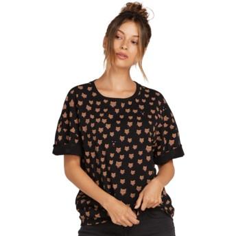 Volcom Black Stone Splif Black T-Shirt