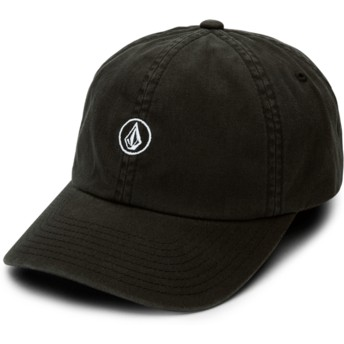 Volcom Curved Brim Black Good Mood Black Adjustable Cap