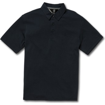 Volcom Youth Navy Wowzer Navy Blue Polo