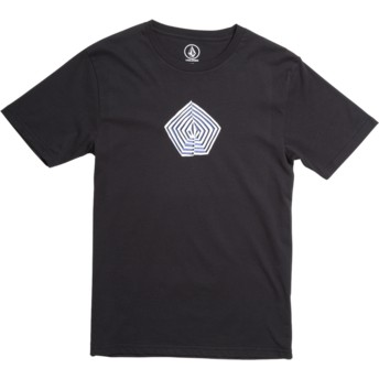 Volcom Youth Division Black Noa Band Black T-Shirt