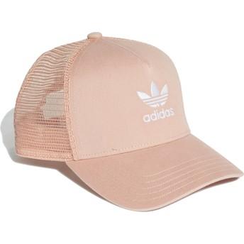 Adidas Trefoil Pink Trucker Hat