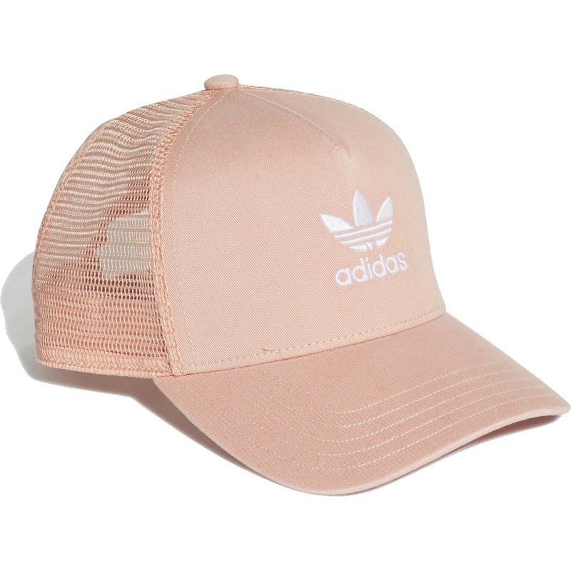 694ac2a85b3a6 Adidas Trefoil Pink Trucker Hat  Shop Online at Caphunters