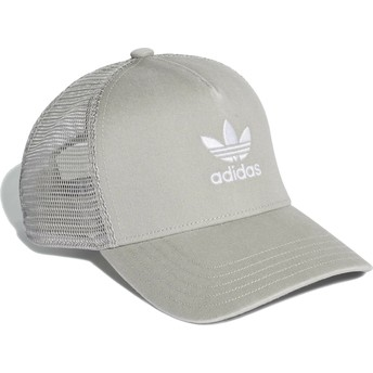 Adidas Trefoil Grey Trucker Hat