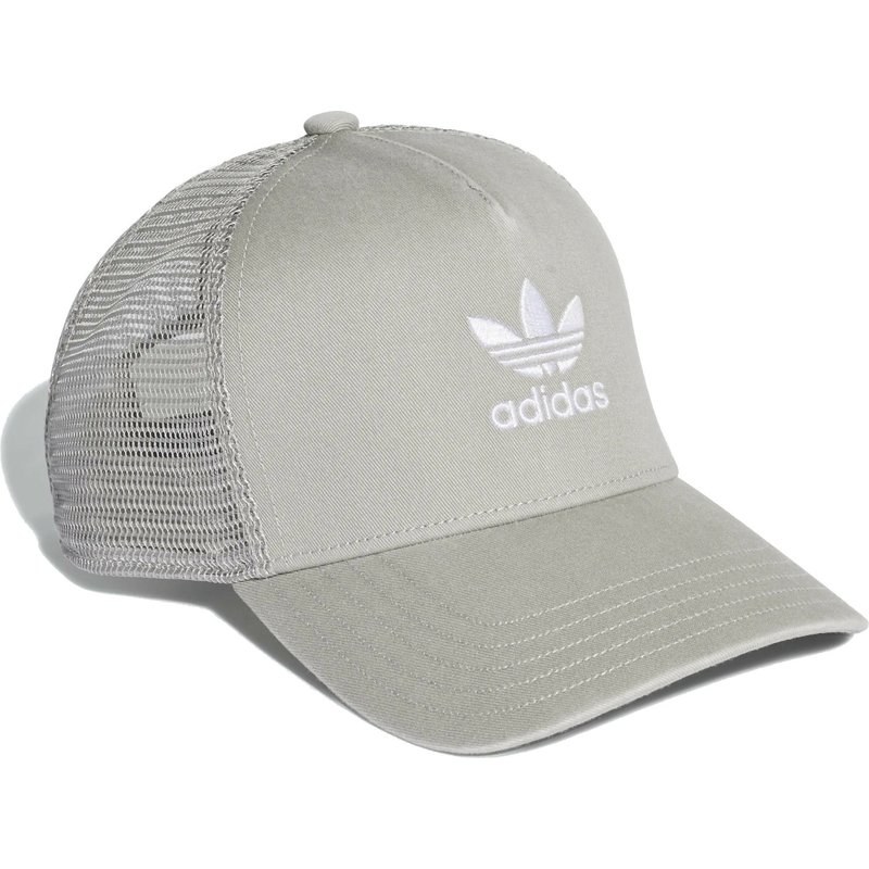 Adidas Trefoil Grey Trucker Hat  Shop Online at Caphunters 4be4287e1775