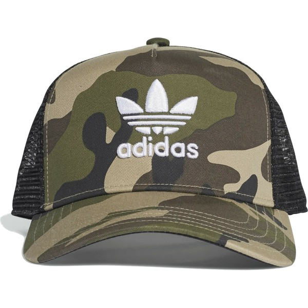 a106d3c02 Adidas Trefoil CRV Camouflage Trucker Hat