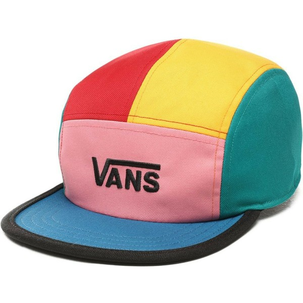 vans-5-panel-patchy-multicolor-cap