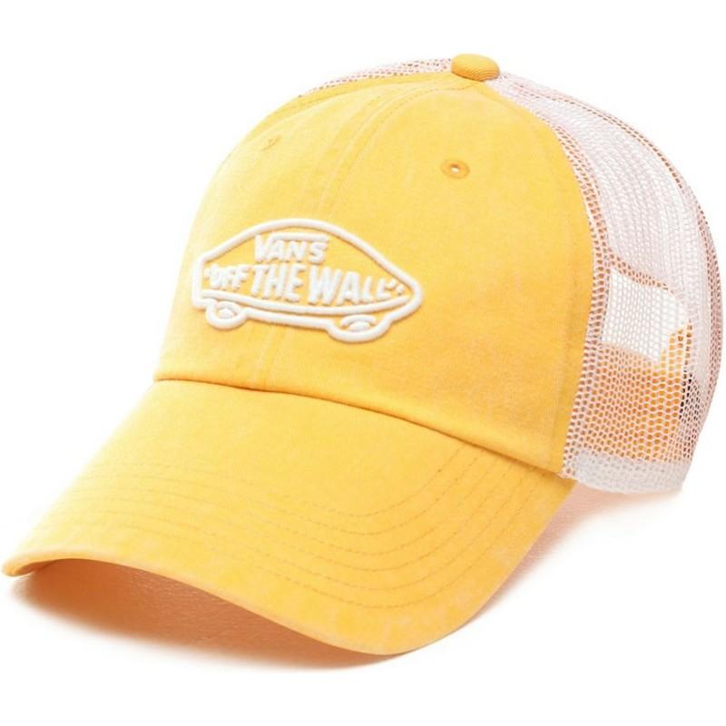 b1165b2312394 Vans Acer Yellow Trucker Hat  Shop Online at Caphunters