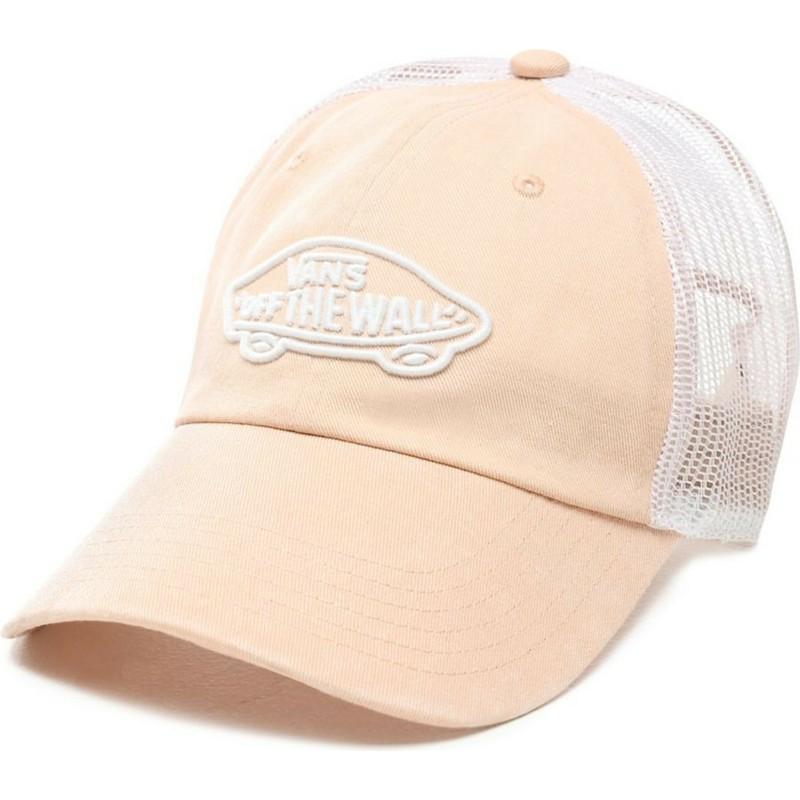 220a61ff Vans Acer Pink Trucker Hat
