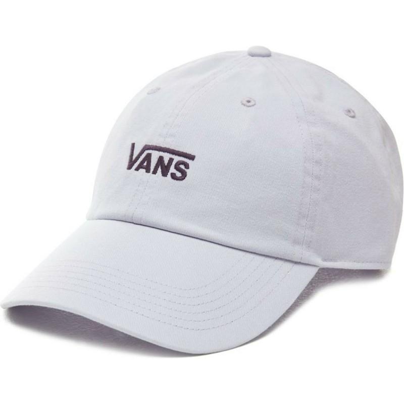 cd711faf Vans Curved Brim Court Side Purple Adjustable Cap: Shop Online at ...
