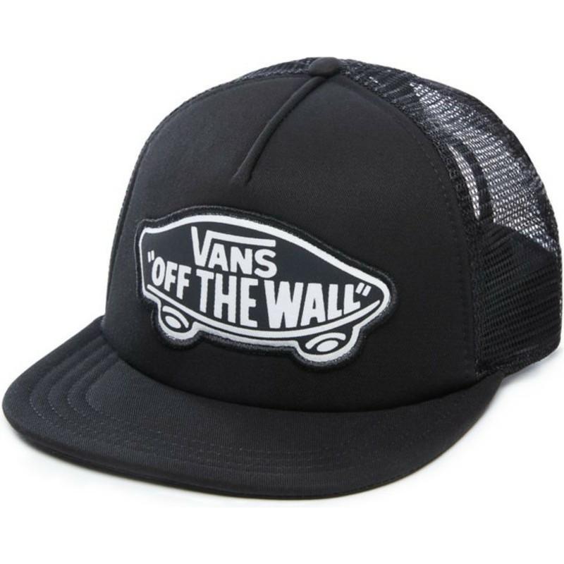 f5496452dcd Vans Beach Girl Black Trucker Hat