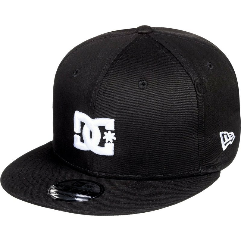 0551402eff5 DC Shoes Flat Brim Empire Fielder Black Snapback Cap  Shop Online at ...