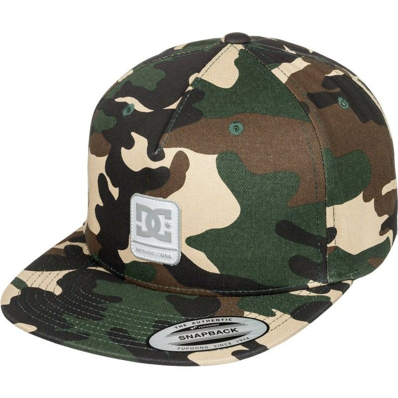 551289edd0e0c DC Shoes Flat Brim Snapdragger Camouflage Snapback Cap  Shop Online ...