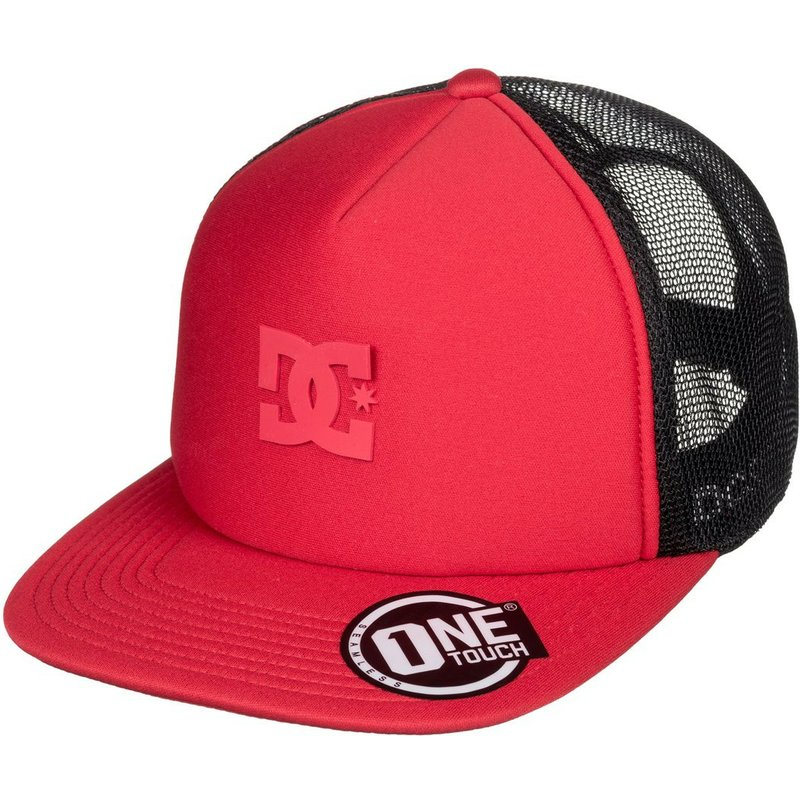 a6181d1b DC Shoes Greet Up Red Trucker Hat: Shop Online at Caphunters