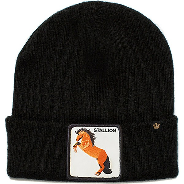 goorin-bros-big-horse-black-beanie
