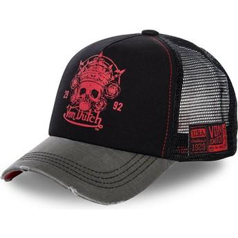 Von Dutch GRE Black Trucker Hat