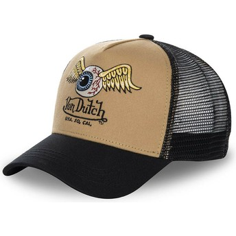 Von Dutch MOU Brown and Black Trucker Hat