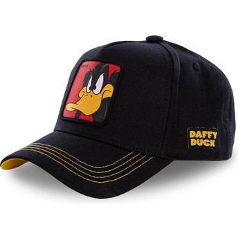 Capslab Curved Brim Daffy Duck DAF3 Looney Tunes Black Snapback Cap