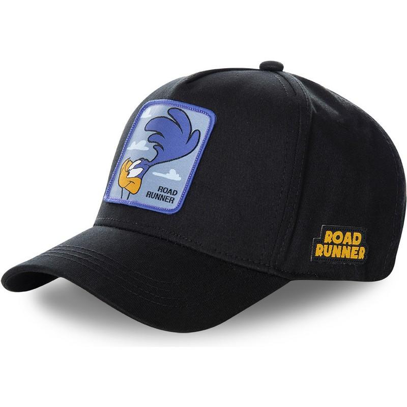3324020e5aefc Capslab Curved Brim Road Runner ROA3 Looney Tunes Black Snapback Cap ...