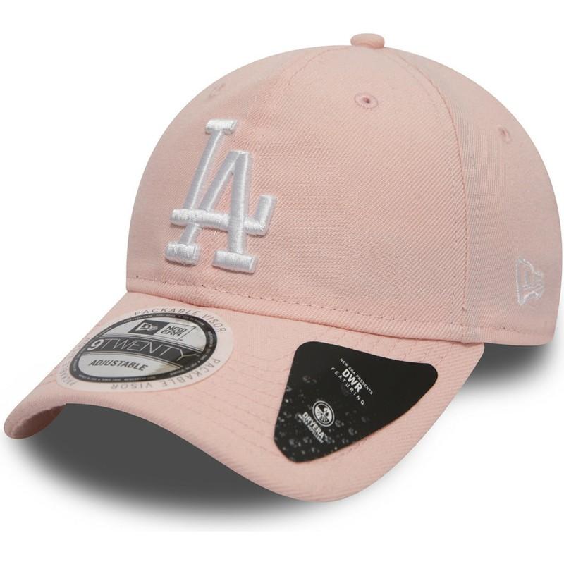 79514c65e New Era Curved Brim 9TWENTY DryEra Packable Los Angeles Dodgers MLB ...