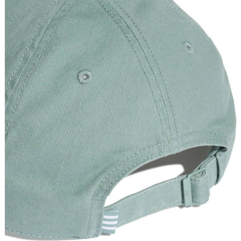 reputable site 62323 d4cbf ... adidas-curved-brim-washed-adicolor-green-adjustable-cap ...