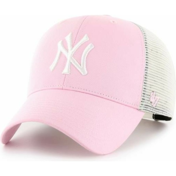 47-brand-mvp-flagship-new-york-yankees-mlb-light-pink-trucker-hat