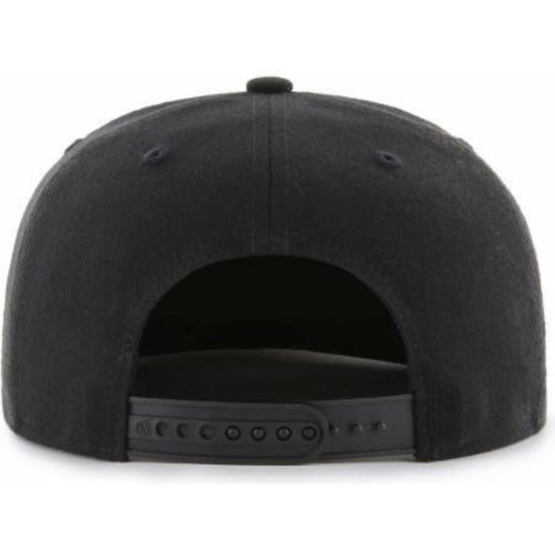 47 Brand Flat Brim Captain Iridescent New York Yankees MLB Black ... 97b6c30d90a