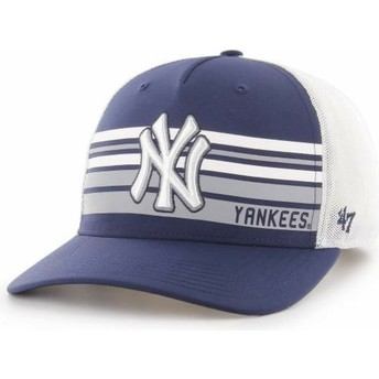 47 Brand MVP DP New York Yankees MLB Navy Blue Trucker Hat